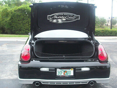 2000 - 2005 Monte Carlo Limited Edition Pace Car Trunk Mat   Gm Licensed