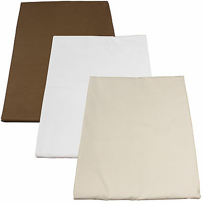 Poly-Cotton Fitted Massage Table Sheets (50 pack)
