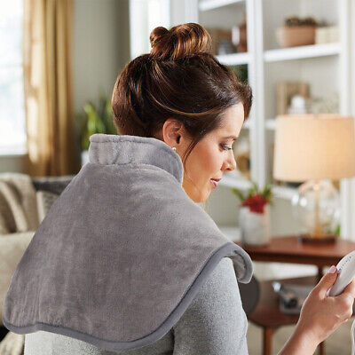 Electric Heating Pad Wrap with Fast Heating Auto Shut Off for Neck Shoulder Back