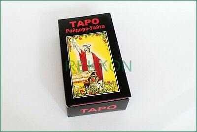 Rider-Waite Tarot Deck 78 Cards ТАРО Райдера Уэйта Russian Instruction Oracle