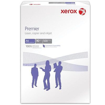 XEROX A4 Premier Paper 1000 Sheets/ Twin Pack/ 2 Reams 90GSM