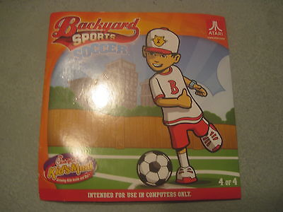 2012 Chick-fil-A Kids Meal Toy - Atari Backyard Sports CD Soccer 4 of 4 (0012)
