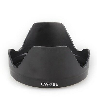 EW-78E Lens Hood for DSLR Camera Canon EF-S15-85mm f3.5-5.6 IS USM