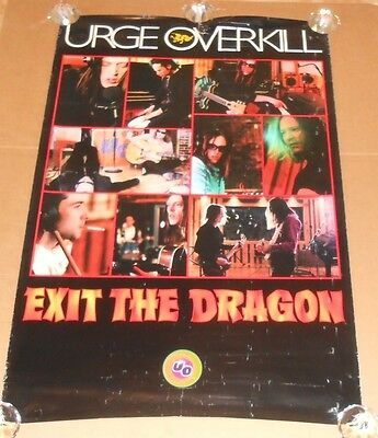 Urge Overkill Exit the Dragon Original Poster 40x26
