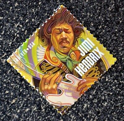 2014USA  #4880   Forever - Jimi Hendrix  Single Stamp-  Mint NH   music icon