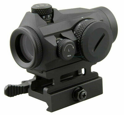 Vector Optics Micro Red Dot Sight With QD Riser Mount & Low Profile Base S&W
