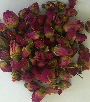 ROSE BUDS 100gm RED NATURAL DRIED Wedding Pot Pourri Soap and Candle making