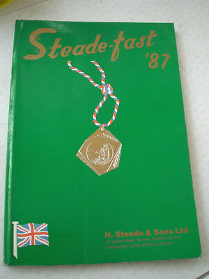 Steade-Fast Trade Advertising Fishing Catalogue For 1987