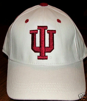 INDIANA HOOSIERS UNIVERSITY COLLEGE YOUTH BOYS FLEX FIT BASEBALL CAP HAT NEW