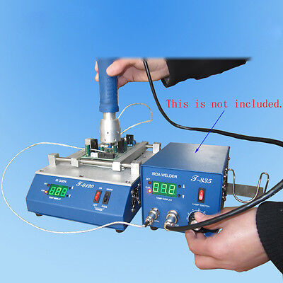 T-8120 Infrared IR PCB Preheater Preheating Oven 800 W 120 x 120 mm