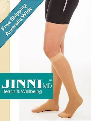 Compression Stockings - Knee High By Jinni MD NEW