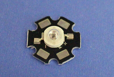 1W Infrared IR 850NM High Power LED Bead Emitter with 20mm Star