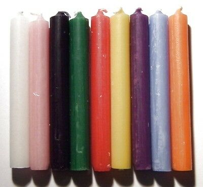 Spell Candles Altar/Ritual/Wicca/Pagan (100% Colour) - Buy 2 Get 2 Free