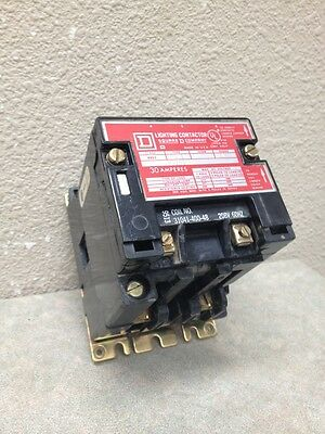 Square D 8903Smo1V08 2 Pole 30 Amp Electrically Held Lighting Contactor New