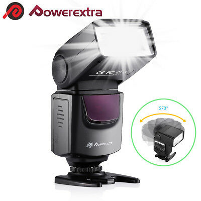 Universal Speedlite Flash Light For Canon 550D 60D 5D 7D 600D Nikon D3100/5200
