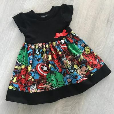 Marvel/ Avengers Baby Dress, Goth, Punk, Alternative, Funky All Baby Sizes