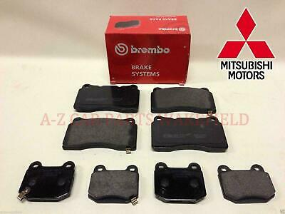 For Lancer EVO 6 7 8 9 MR FQ 300 320 340 360 Front Rear Brembo brake pads
