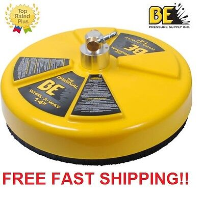 "New BE Pressure 14"" Whirl-A-Way Flat Surface Concrete Cleaner Part# 85.403.014"