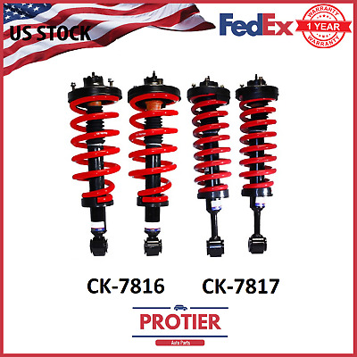 Front & Rear Air Suspension to Coil Conversion Kit Ford Expedition & Navigator