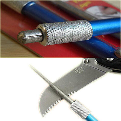Mutil-tool 3 in1 Outdoor Hunting Fishing Pocket Sharpener Diamond Knife Saw Hook