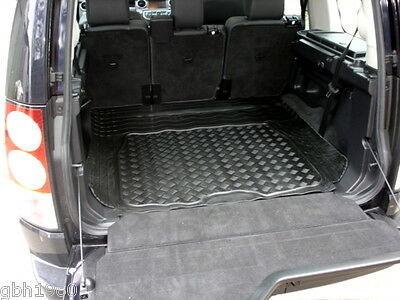 Land Rover Discovery 4 natural rubber boot mat load liner tailgate protector 3pc