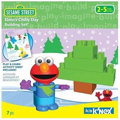 Kid K'Nex KNex Sesame Street Elmo's Chilly Day Set