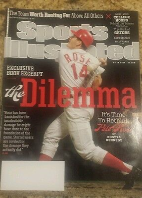 NEW SI Sports Illustrated March 3 10 2014 ISSUE THE DILEMMA PETE ROSE NO LABEL