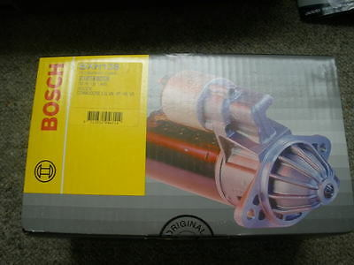 Holden Vl Vn Vp Vr Vs Commodore Berlina Calais Genuine Bosch Starter 5.0L V8 New