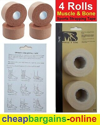 4 Madison Medical Muscle & Bone Support Brace Competition Sports Strapping Tape