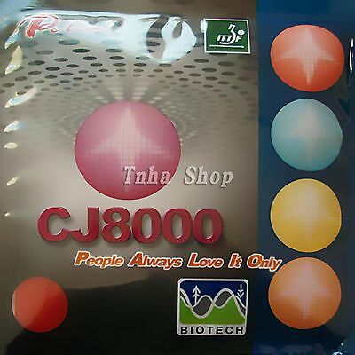 Palio CJ8000 (36-38°) (BIOTECH) 2-Side Loop Type Table Tennis Rubber/Sponge