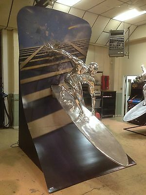 Life Size Marvel Silver Surfer Theater Display Full Size Prop