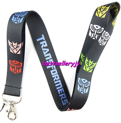 Lot 10Pcs Transformers Neck mobile Phone lanyard Keychain straps charms Gifts