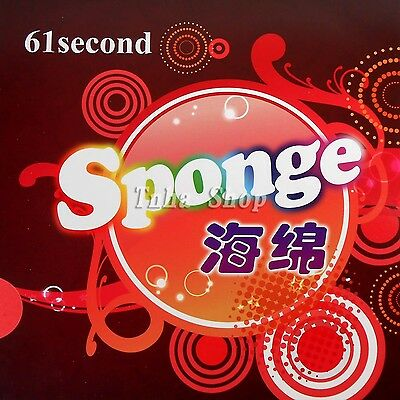 61second High-Elasticity red table tennis sponge, 0.5-2.4mm