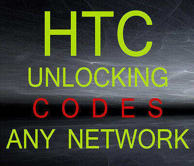 Htc Unlock Code Almost Any Service Provider & Any Model Arround The World