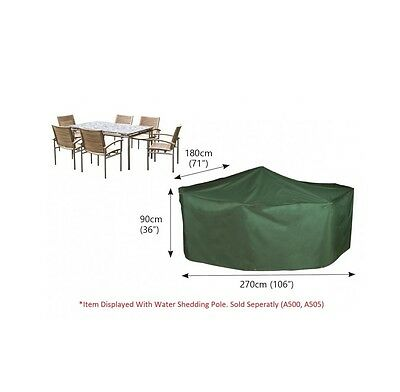 Bosmere C530 - Cover up Rectangular Patio Set Cover 6 Seat