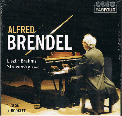 Alfred Brendel - Cofret 4 Cd + Booklet - 2011 - Neuf New Neu
