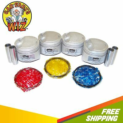 Premium Piston//OES Ring Kit .50mm for Toyota 1.5L 92-98 Paseo Tercel DOHC 5EFE