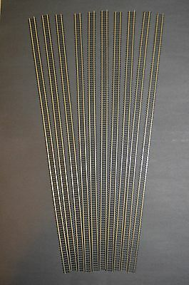 "Atlas Code 100 Super-Flex Nickel Silver 36"" Ho Scale Train Track (10 Pieces) NEW"