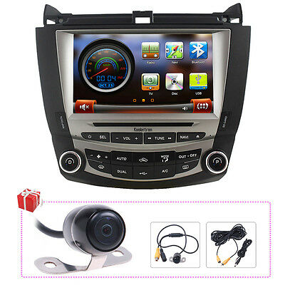For Honda Accord 2003-2007 Autoradio DVD GPS Navigation Headunit Multimedia-2