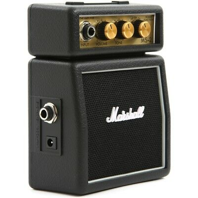 MARSHALL MS-2 mini amplificatore portatile a batteria per Chitarra iPhone iPad