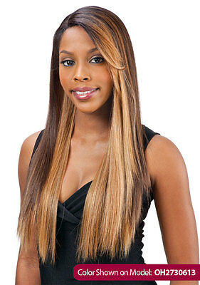 Equal Synthetic Invisible Lace Front L Part Wig Simply
