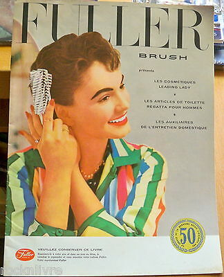 1950s Vintage FULLER Brush Co. French Catalog Fashions Health & Beauty Women  #3