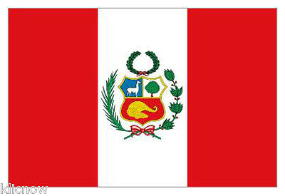 PERU STATE FLAG 5FT X 3FT (Another Quality product from Klicnow)
