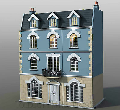 The Beeches Dolls House 1:12 Scale  - Unpainted Dolls House Kit