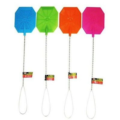Fly Swatter with Metal Handle - Color Choice