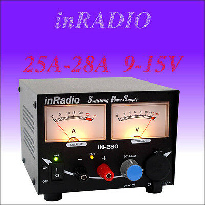 Inradio In-280 - Switching Power Supply 25A/28A 9-15V + Free & Fast Delivery!