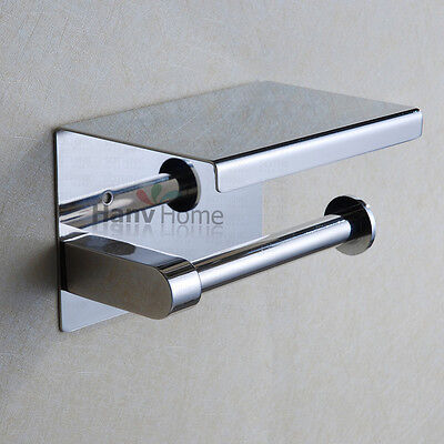 304# Stainless Steel Toliet Paper Holder Roll Tissue Box Bathroom Accessories