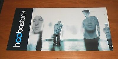 Hoobastank Crawling in the Dark Promo 2-Sided Flat Square Poster 24 x 12