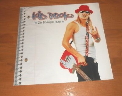 Kid Rock The History of Rock 2000 Promo 2-Sided Flat Square Poster 12x12