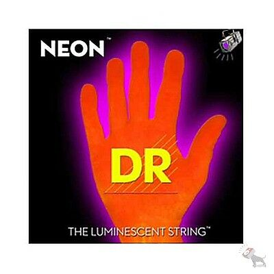 DR Strings K3 NEON Hi-Def ORANGE ELECTRIC Guitar NOE-11 11-50